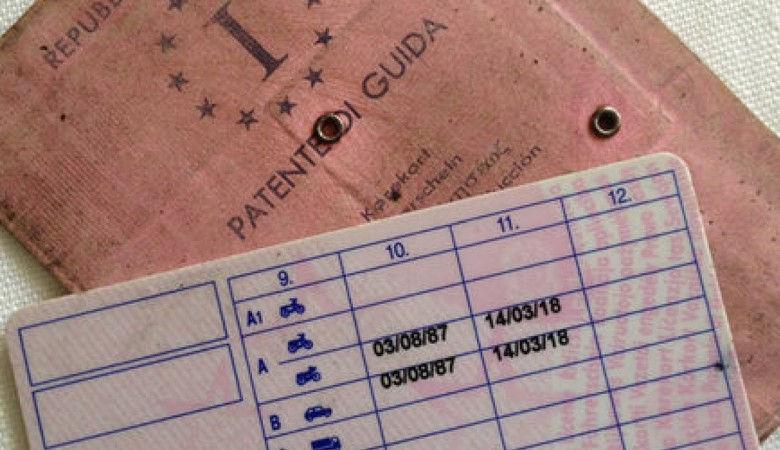 patente di guida valida come documento