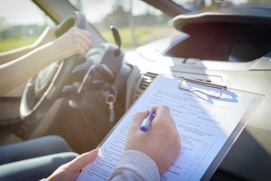 esame patente di guida americana
